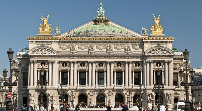 L'Opéra Garnier proche de l'Hôtel Opéra Deauville